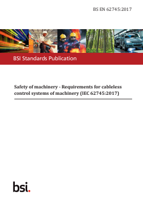 Requirements for Cableless Control Systems of Machinery.