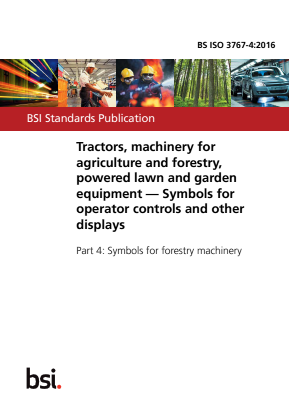 Symbols for Operator Controls and other Displays - Forestry Machinery