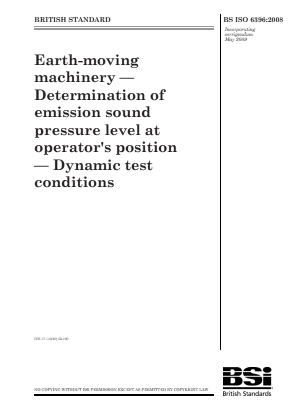 Noise - Operators Position - Dynamic Test.