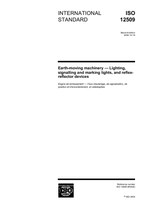 Lighting, Signalling and Marking Lights and Reflectors.