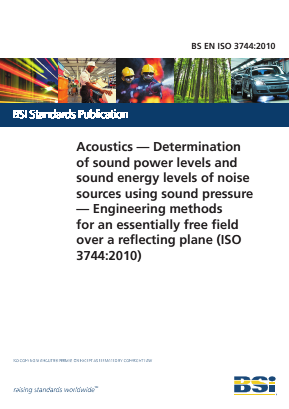 Noise - Acoustics - Sound Power Level Measurement - Engineering Method.