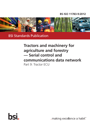 Serial Control and Communications Data Network - Tractor ECU - Tractors and Machinery for Agriculture and Forestry.