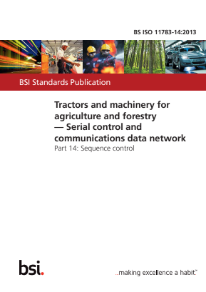 Serial Control and Communications Data Network - Sequence Control - Tractors and Machinery for Agriculture and Forestry.