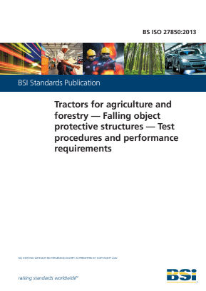 Falling Object Protective Structures - Agricultural and Forestry Tractors.