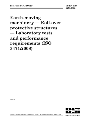 ROPS - Roll-Over Protective Structures - Lab Tests.