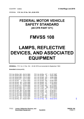 Lamps, Reflective Devices, and Associated Equipment.