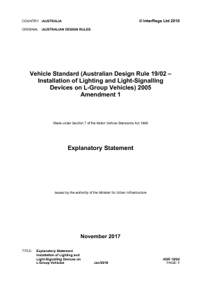 Lights and Light-signalling Devices.