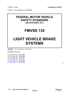 Light Vehicle Brake Systems.