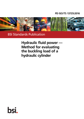 Hydraulic Fluid Power - Method for Evaluating the Buckling Load of a Hydraulic Cylinder.