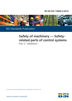 Controls - Safety Related Parts of Control Systems - Validation.