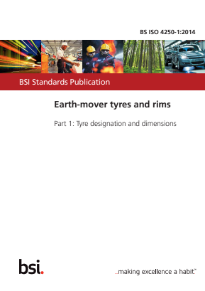 Earth-mover Tyres and Rims - Tyre Designation and Dimensions.