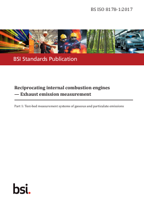 Emissions - Internal Combustion Engines - Test Bed Measurement Systems of Gaseous and Particulate Emissions.