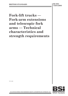 Forklift Trucks - Fork Arm Extensions and Telescopic Fork Arms.