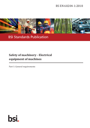 Electrical Equipment of Machines - General Requirements.