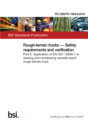 Rough-terrain Trucks - Performance level - Risks and hazards - Safety Related Control.