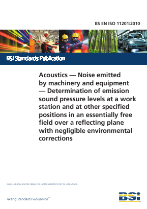 Noise - Acoustics - Measurement of Sound Pressure Levels at Workstation and Other Positions with Negligible Environmental Corrections.