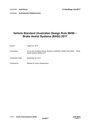 Brake Assist Systems (BAS).