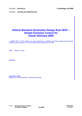 Smoke Emission Control for Diesel Vehicles.