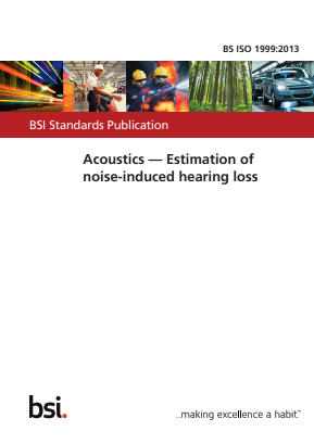 Acoustics - Estimation of Noise-induced Hearing Loss.