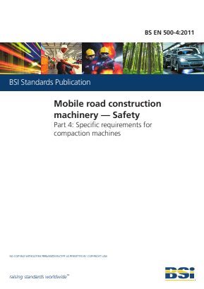 Compaction Machines - Safety - General Requirements.