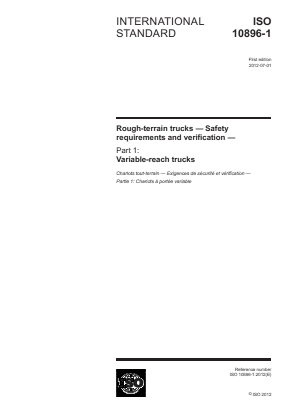 Rough-Terrain Trucks - Safety - Variable Reach.