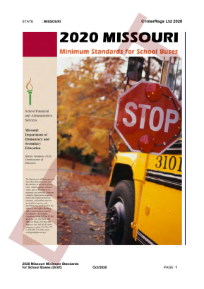 Minimum Standards for School Buses.