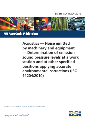 Noise - Acoustics - Measurement of Sound Pressure Levels at Workstation and Other Positions with Accurate Environmental Corrections.
