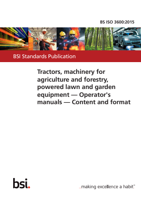 Tractors and Machinery for Agriculture, Forestry, Lawn and Garden - Operator's Manuals.